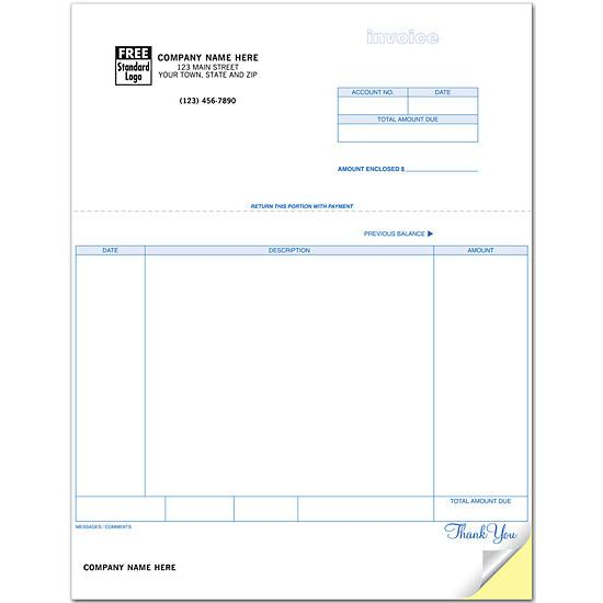 Laser Printer Invoices  Account Statements DesignsnPrint