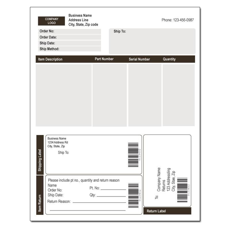 Custom Carbonless Invoice Forms DesignsnPrint - custom business invoices