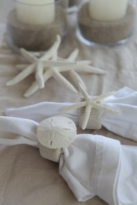 diy project: beachy napkin rings  Design*Sponge