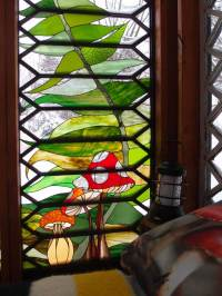 A Stained Glass Artist Creates A Mini Refuge  Design*Sponge