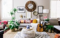 Effortless Boho Style Transforms a 90s Cookie-Cutter Home ...