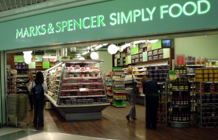 marks and spencers london