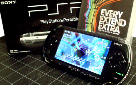 PSP giveaway and game. Every Extend Extra