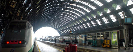 italy trip train station milan