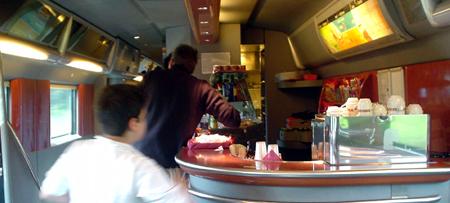 italy trip eurostar train