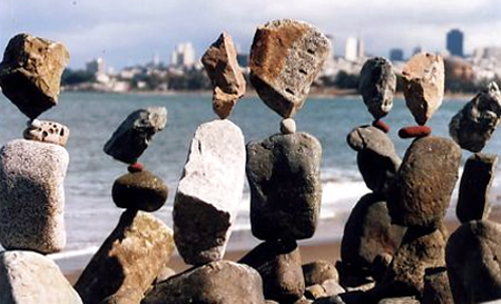 bill dan balancing rocks