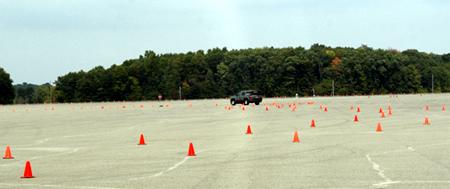 GM test drive detroit Black Lake