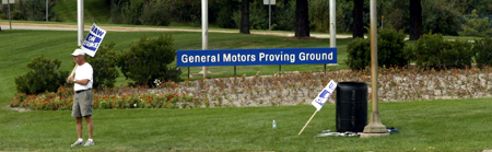GM test drive detroit proving grounds