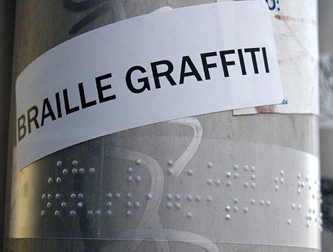 braile graffitti