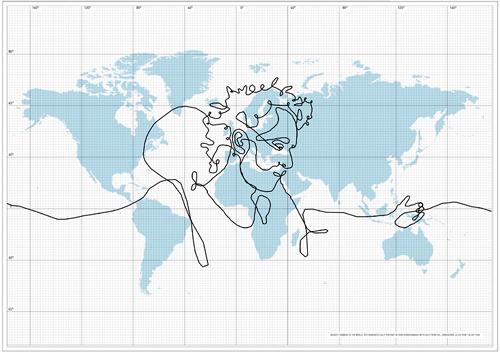 Erik Nordenankar biggest drawing in the world dhl