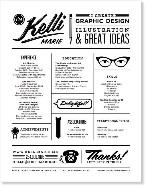 On Resume Design Recto/Verso