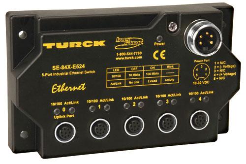 Turck Enhances Line Of Rugged Ethernet Switches
