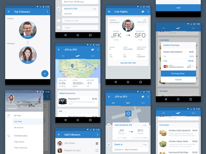 Material Design Inspiration - Android Apps Using Material Design