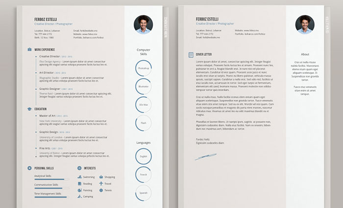 Graphic Design Resume Best Practices and 51 Examples - Free Professional Resume Template Downloads