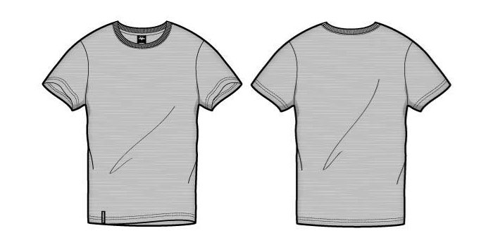 Blank T-Shirt Vector Templates 54 Handpicked Examples - t shirt template