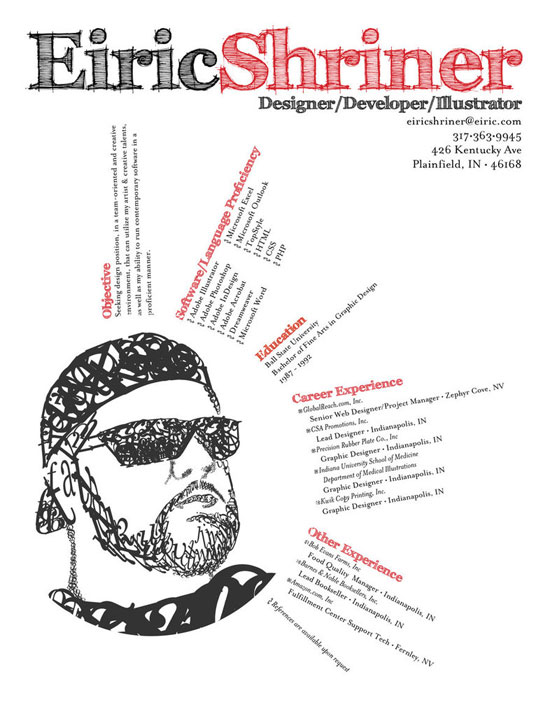 Graphic Design Resume Best Practices and 51 Examples - resume examples graphic design
