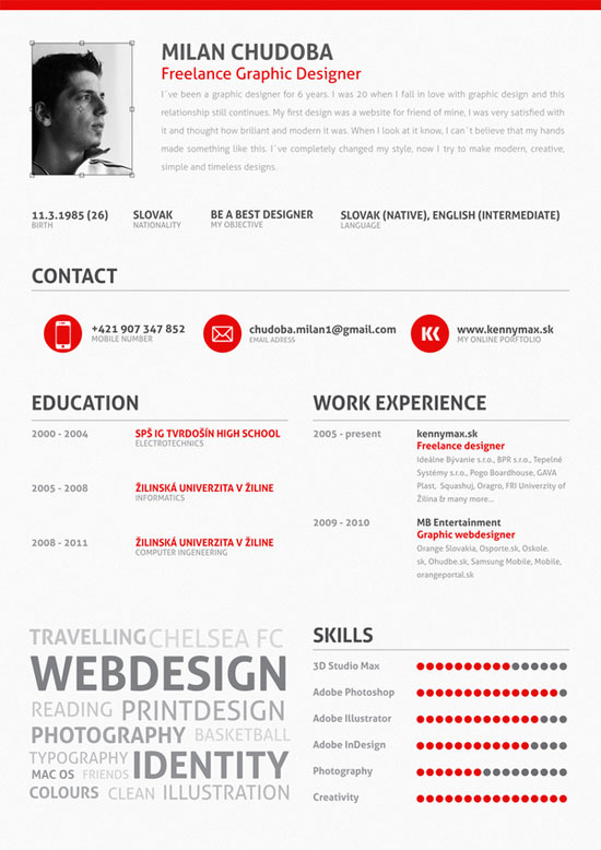 Graphic Design Resume Best Practices and 51 Examples - graphic design student resume