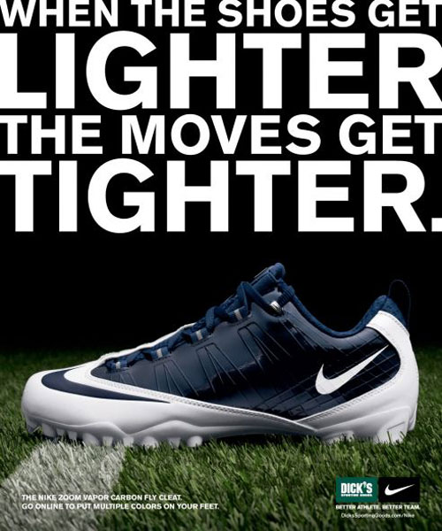 Nike Print Magazine Ads That Boosted The Brandu0027s Popularity - sample advertising timeline
