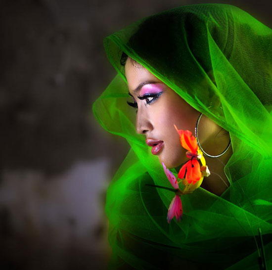 Afghan Girl Eyes Wallpaper Beauty In Close Up Creative Portrait Photography 32
