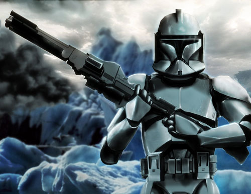 Droid 2 Wallpapers Girl Clone Trooper Star Wars Drawings And Illustrations