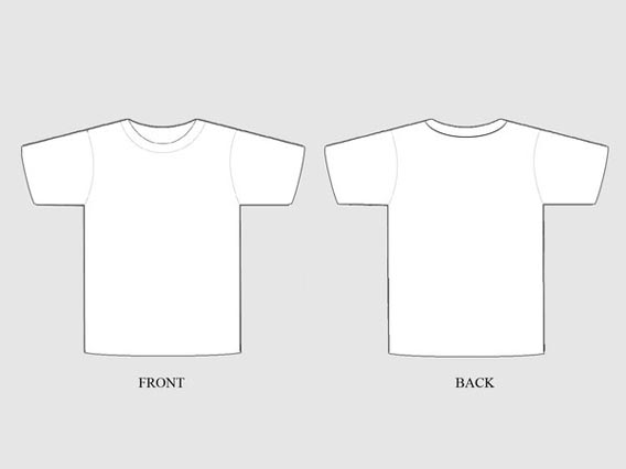 82 Free T-Shirt Template Options For Photoshop And Illustrator