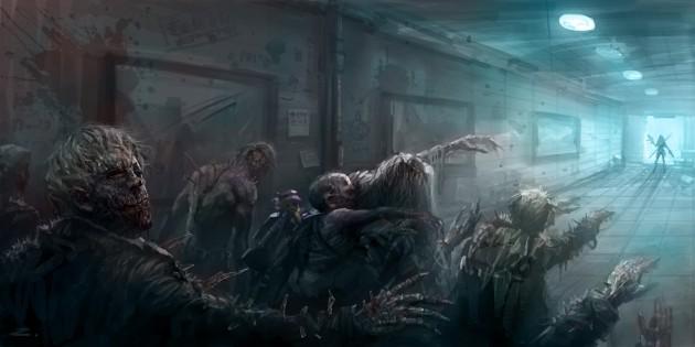 Deviantart Wallpapers Girl Brains 30 Zombie Rific Paintings