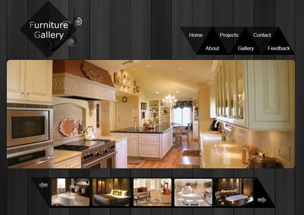 website template gallery