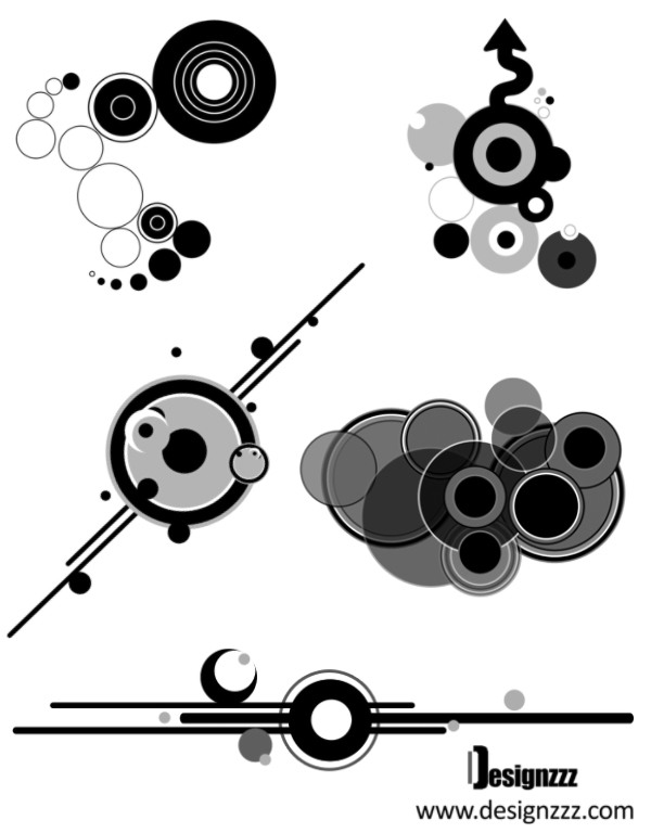 20 Top Quality Circle Brushes for Photoshop