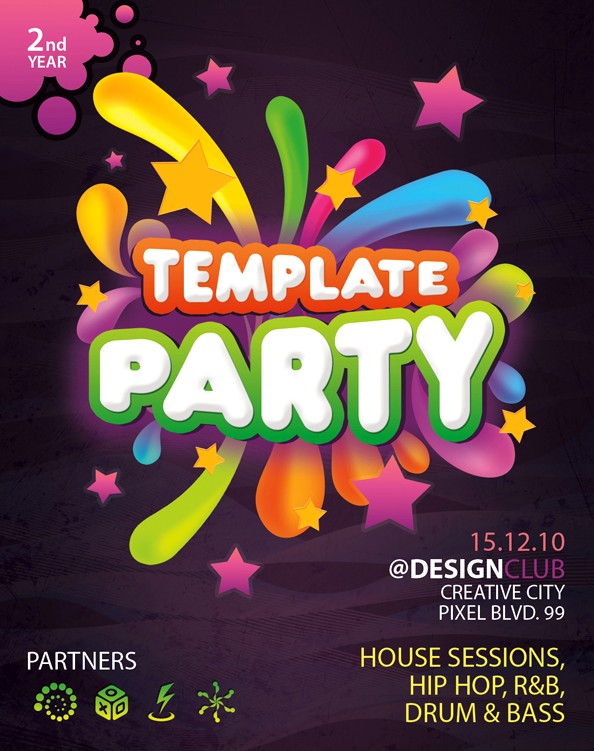 60+ Free PSD Poster and Flyer Templates UPDATED