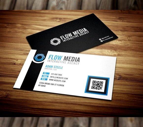 100 Free PSD Business Card Templates