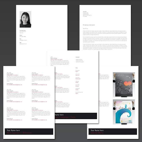 making resume on indesign