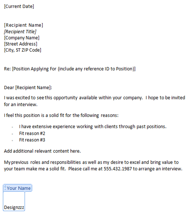 Addressing Cover Letter To Unknown My Document Blog