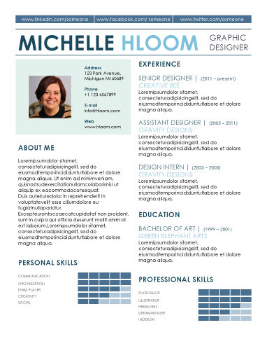 89 Best yet Free Resume Templates for Word - modern resume layout