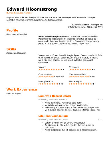 89 Best yet Free Resume Templates for Word - best resume templates for word
