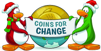 coins for change, virtual games, online games, virtual games for kids, online kids games, games, club penguin, disney, disney interactive