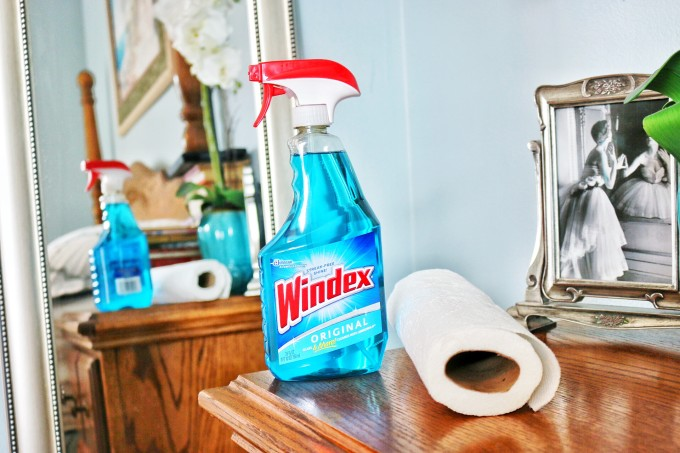 windex in the bedroom