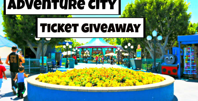 For the Fun! Adventure City Ticket Giveaway!