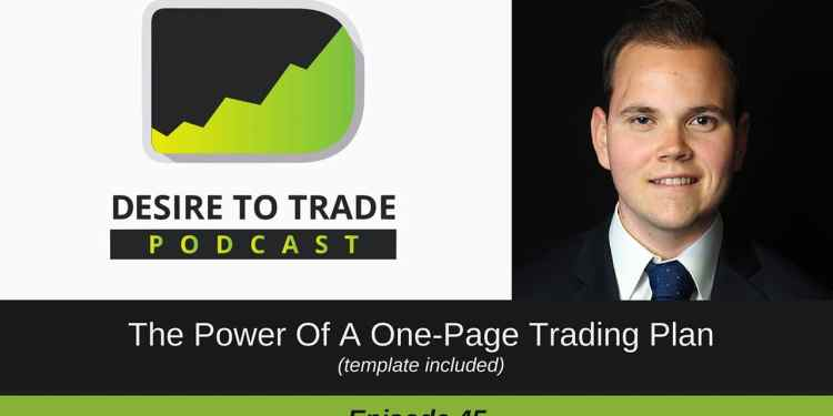 The Power Of A One-Page Trading Plan (1)
