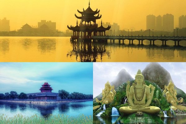 Asian Landscapes Animated Wallpaper Preview