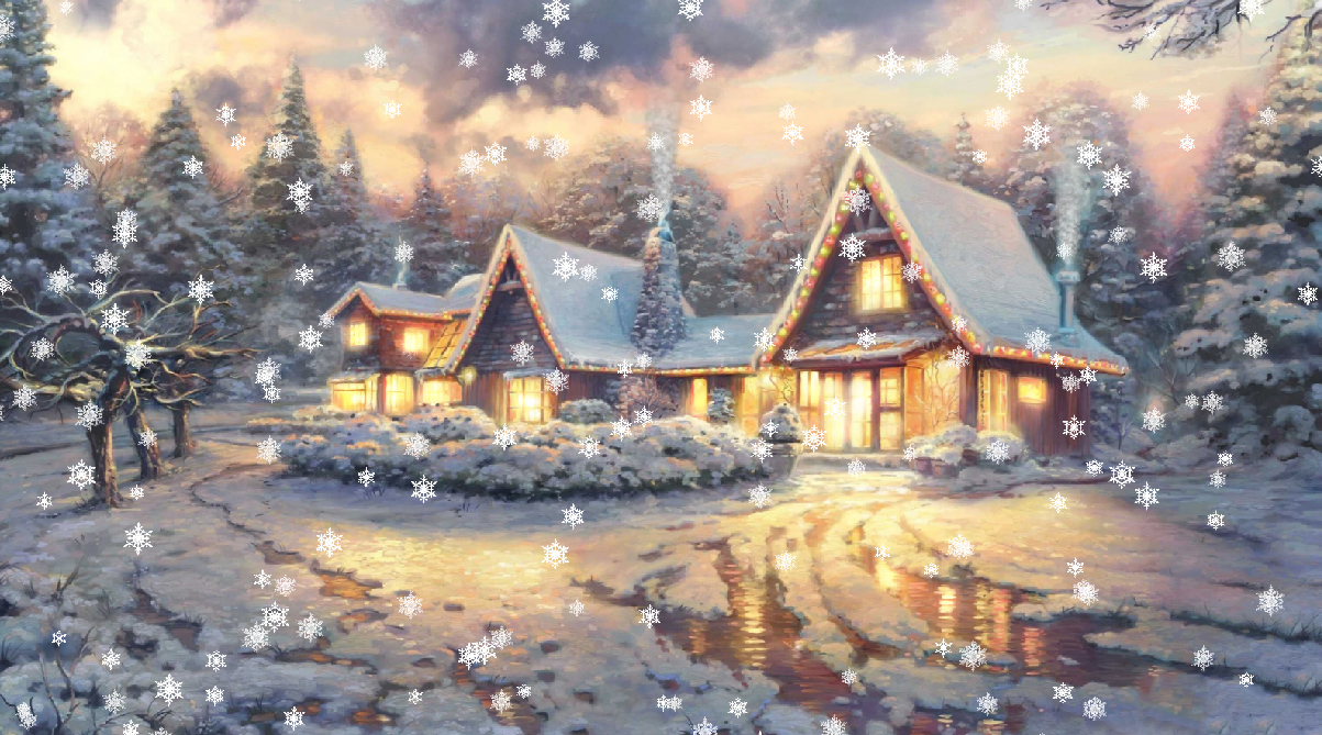 3d Snowy Cottage Animated Wallpaper Free Download Easter Bunny Animated Wallpaper Desktopanimated Com