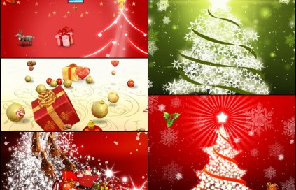 Merry Christmas Animated Wallpaper 2.0 Preview