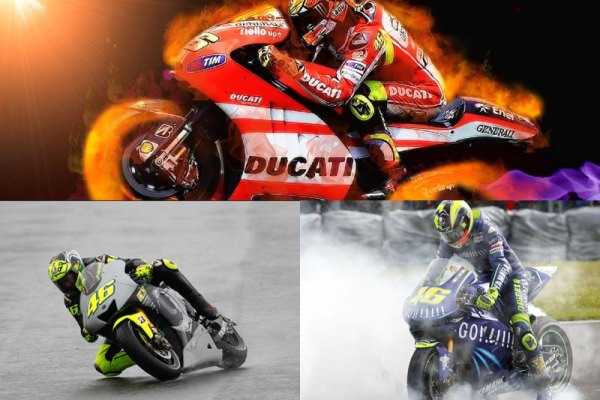 Moto GP Animated Wallpaper Preview