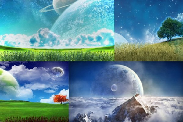 Space Fields Animated Wallpaper Preview