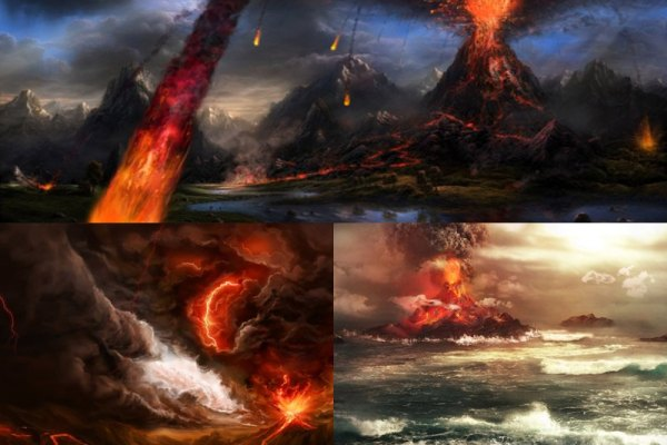 Volcano Animated Wallpaper Preview
