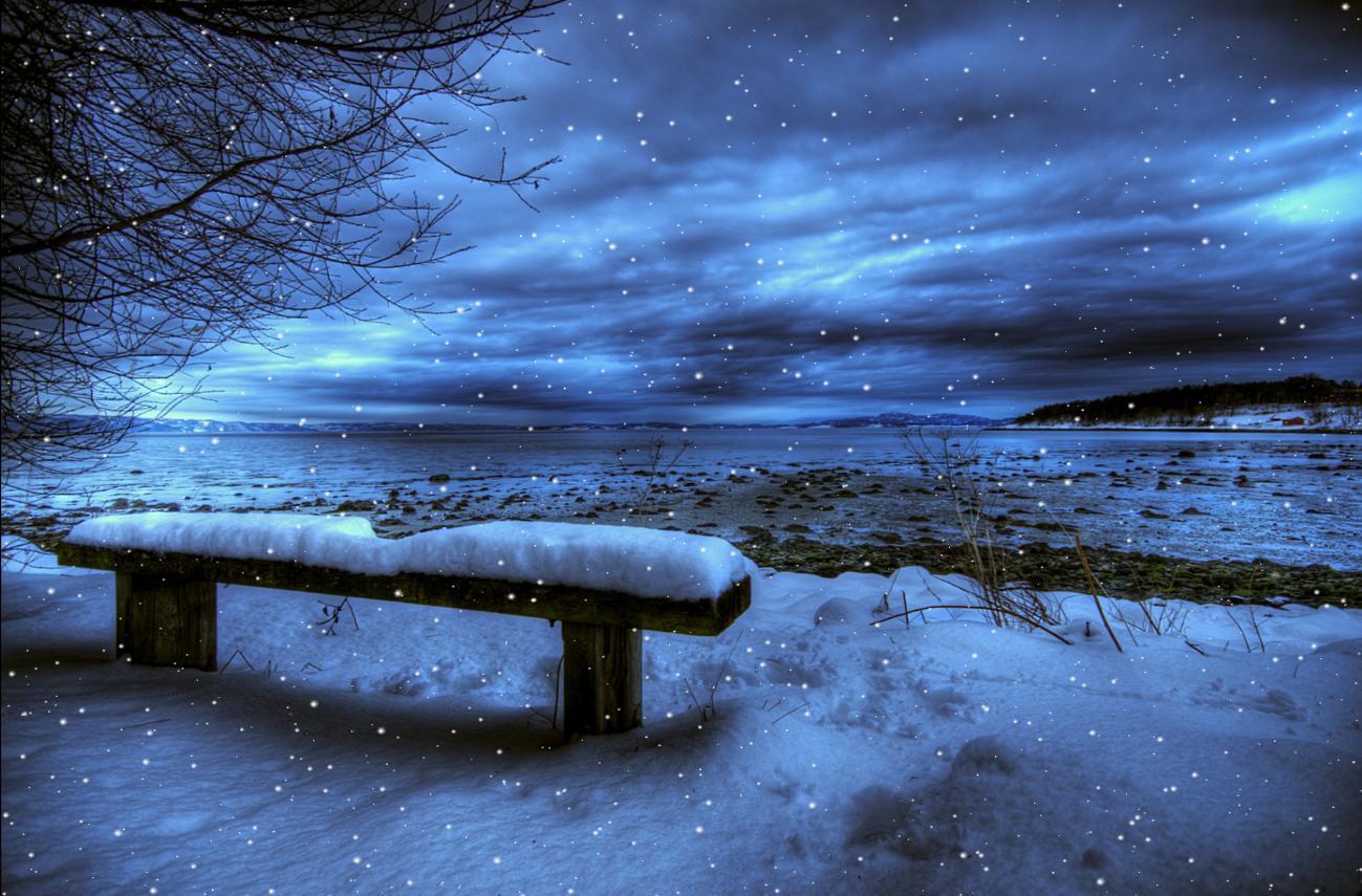 3d Snow Falling Wallpaper Download Cold Winter Animated Wallpaper Desktopanimated Com