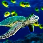 Sea Turtle Animated Wallpaper