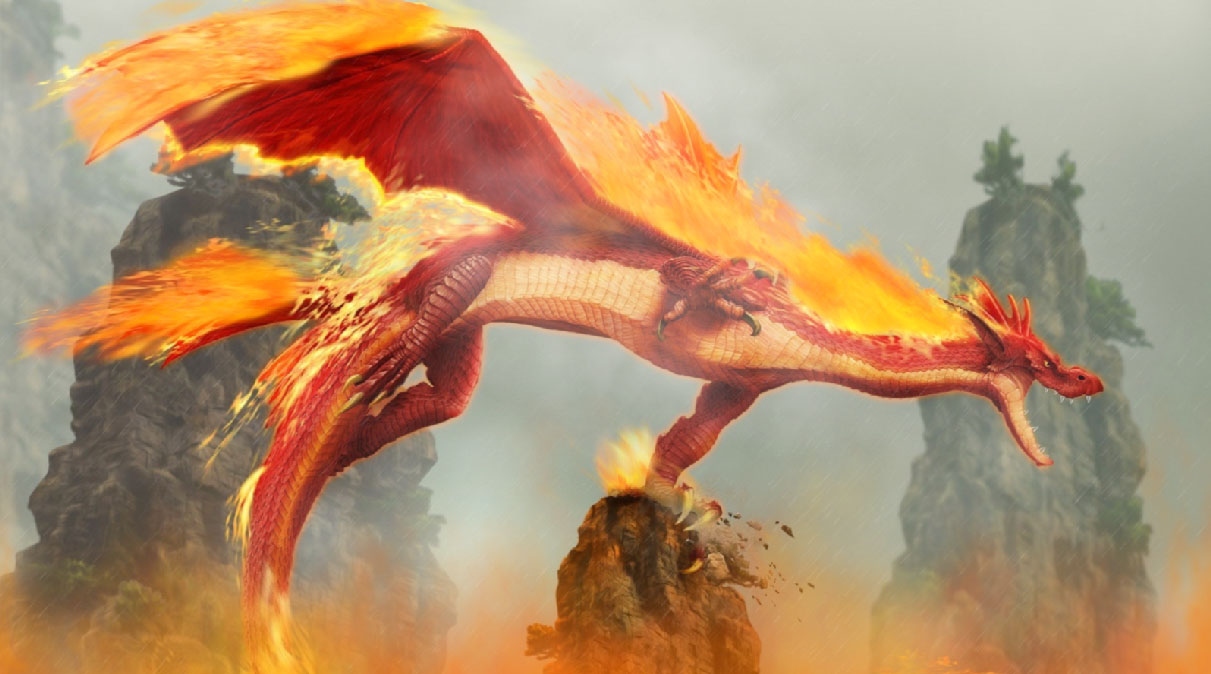 Download Free 3d Wallpapers For Windows 8 Fire Dragon Animated Wallpaper Desktopanimated Com