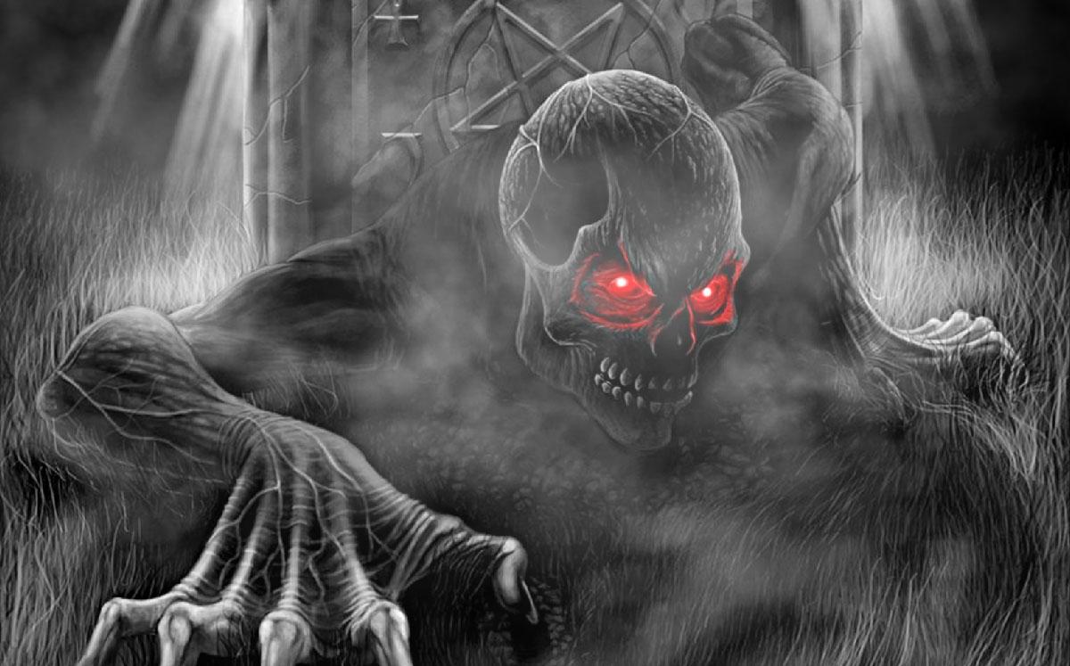 Animated Halloween Wallpaper Windows 7 Terrifying Monsters Animated Wallpaper Desktopanimated Com