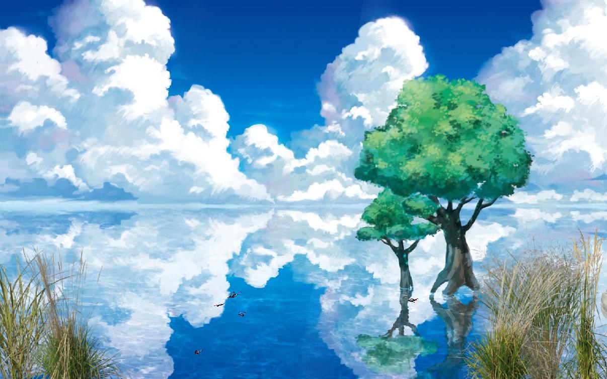 3d Live Waterfall Wallpapers Oneiric Lake Animated Wallpaper Desktopanimated Com
