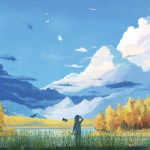Manga Landscapes Animated Wallpaper